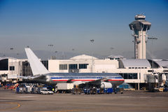 LA Air port Royalty Free Stock Photo