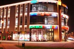 La alameda Alto Wilanow ALTO Wilanow es una alameda de compras situada en el ³ w de Wilanà Imágenes de archivo libres de regalías