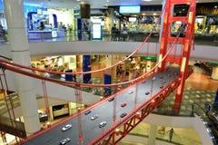 Alameda de compras del terminal 21 Imagenes de archivo