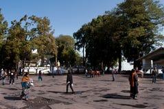 La alameda de Darjeeling Fotos de archivo libres de regalías