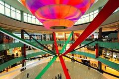 La alameda de Dubai Foto de archivo libre de regalías