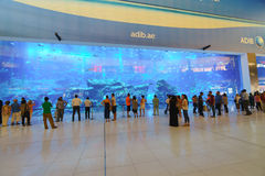 La alameda de Dubai Imagenes de archivo