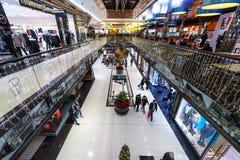 La alameda del ` del centro comercial del ` de Berlín en Leipziger Platz Foto de archivo