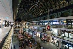 La alameda del ` del centro comercial del ` de Berlín en Leipziger Platz Fotografía de archivo libre de regalías