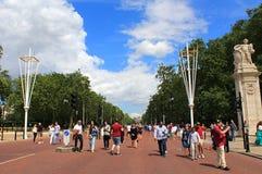 La alameda Londres imágenes de archivo libres de regalías