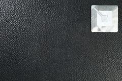 La alarma del sensor del cojín de la etiqueta engomada del RFID representa el protecti de hurto en tiendas Imágenes de archivo libres de regalías