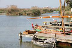 La Albufera nature reserve Spain Stock Image
