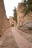 La Alcazaba fortress in Malaga - Spain Stock Photo