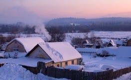 La aldea Imagen de archivo libre de regalías