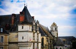 La aldea de Blois fotos de archivo libres de regalías