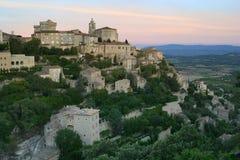 La aldea de Gordes Fotos de archivo libres de regalías