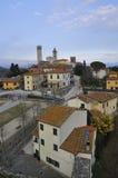 La aldea de Serravalle Imágenes de archivo libres de regalías