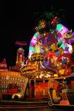 La aldea del carnaval Fotos de archivo