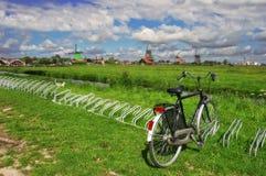 La aldea holandesa #2. imagenes de archivo
