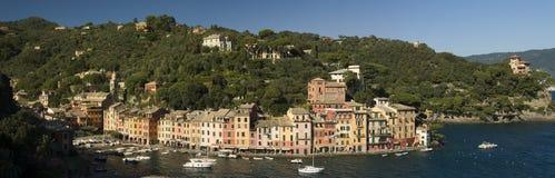 La aldea maravillosa de Portofino, Liguria, Italia Fotos de archivo