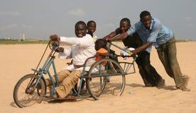 La alegría de África Imagen de archivo libre de regalías