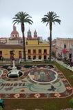 La alfombra de flores La Orotava Tenerife Fotografía de archivo libre de regalías
