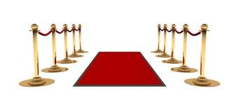 La alfombra roja Fotos de archivo