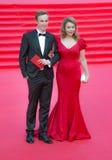 La alfombra roja del MIFF 38 - abertura del festival Imágenes de archivo libres de regalías