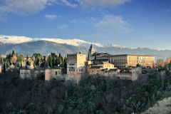 La Alhambra Stock Image