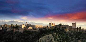 La Alhambra Stock Photography
