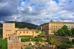 La Alhambra em Granada, Spain Foto de Stock