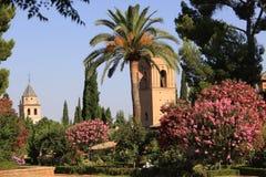 La Alhambra, Granada, España Foto de archivo libre de regalías