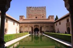 La Alhambra, Granada, España Fotos de archivo