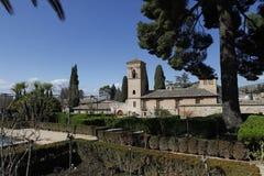 La Alhambra, Granada, Spain Royalty Free Stock Photo