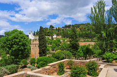 La Alhambra in Granada, Spain Stock Image