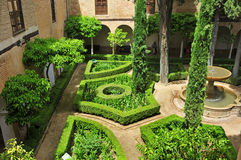 La Alhambra in Granada, Spain Royalty Free Stock Photo