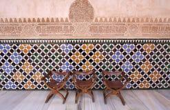 La Alhambra, Granada, Spanje Stock Fotografie