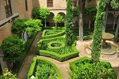 La Alhambra in Granada, Spanje royalty-vrije stock foto