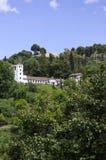 La Alhambra hills.Granada. Stock Image