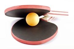 la almeja del ping-pong Imagenes de archivo