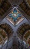 La Almudena Interior di Catedral de II Fotografia Stock