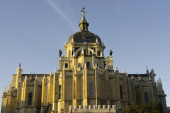 La Almudena, Madrid photo stock