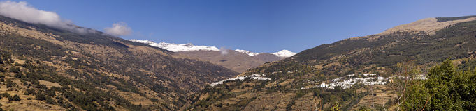 La Alpujarra, Andalusien, Spanien Royalty Free Stock Images