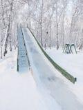 La alta colina del hielo Imagen de archivo libre de regalías