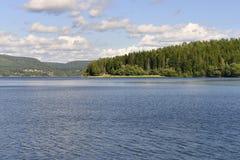 La alta costa (Suecia) Fotografía de archivo libre de regalías