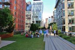 La alta línea, New York City imagenes de archivo