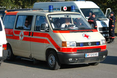 La ambulancia Fotos de archivo libres de regalías