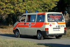 La ambulancia Imágenes de archivo libres de regalías