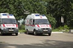 La ambulancia Foto de archivo libre de regalías