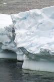 La Antártida - textura del iceberg Imagen de archivo