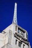La antena de la casa de la difusión de la BBC imagen de archivo libre de regalías