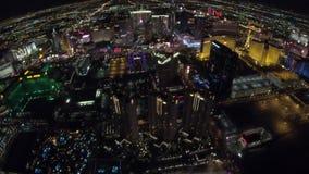 La antena de París Las Vegas almacen de metraje de vídeo