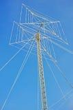 La antena es dos cuadrados en la banda cinco Fotografía de archivo