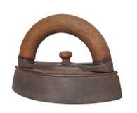 La antigüedad viste el hierro aislado. imágenes de archivo libres de regalías