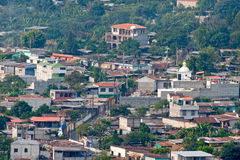 La Antingua Guatemala city Royalty Free Stock Images